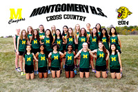 GIRLS CROSS COUNTRY 18X12