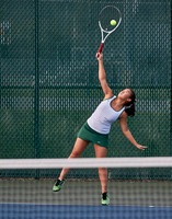 GIRLS TENNIS ACTION VS FRANKLIN 10-5-15