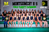 GIRLS SWIMMING 18X12 TEXT