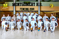 FENCING BOYS TEAM 18X12 TEXT